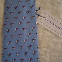Men's Vineyard Vines Custom Collection Neck Tie Nwt Rare Watch Hill Yacht Club Photo