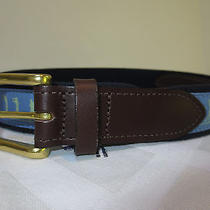 Men's Vineyard Vines Golf Swing Blue Club Belt Size 32 Photo
