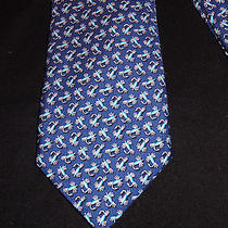 Men's Vineyard Vines Tie Blue Fly Fishing  Photo