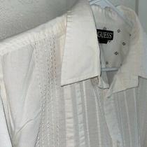 Men's Vintage Shirt - Size Large - 100% Cotton - by