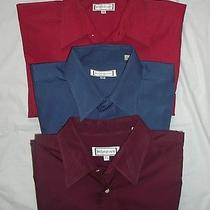 Men's Vintage Yves Saint Laurent Lot of 3 Shirts 16 1/2 32-33 Large Photo