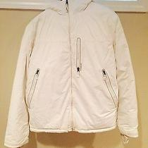 Men's White Burton Snow Board Coat Photo