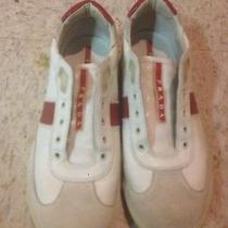 Men's White Prada Shoes Size 7 Photo