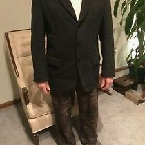 Men's Woolen Sports Coat Size 42 Cacharel Slightly Used Photo