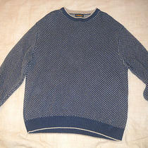 Men's Woolrich Navy Heather Crewneck Sweater Extra Large Xl Photo