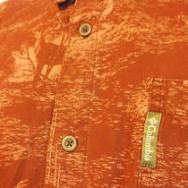 Men's Xl Columbia River Lodge Button Front Shirt Outdoors Camping Hunting Photo