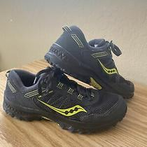 Men Saucony Versafoam Excursion Tr13 Black Gray Green Running Shoes 8.5 S20524-3 Photo