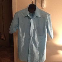 Men Stafford Essentials Classic Fit Sz 16.5 Photo
