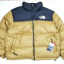 Men the North Face 1996 Retro Nuptse Jacket Brown /gold (Nf0a3c8dd9v) Sz Xxl Photo