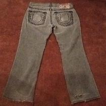 Men True Religion Jeans Bobby Super T Row 34 Seat 33 No Reserve Start .99 Photo