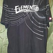Men Xl Element Black T Shirt Tee  Photo