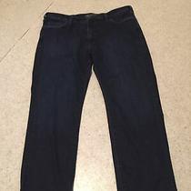 Mens 34 Heritage Courage Mid Rise Straight Denim Blue Jeans Sz 40/30 Nwot Photo