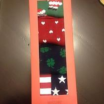 Mens 4 Pack Holiday Socks Photo