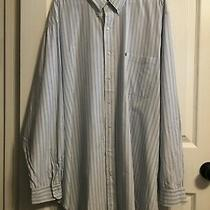 Mens 4xt Long Sleeve Blue Multicolor Striped Shirt by Ralph Lauren Photo