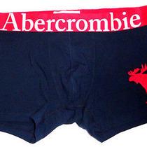 Mens Abercrombie & Fitch Moose Blue Boxer Brief Size L Photo