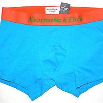 Mens Abercrombie & Fitch Turquoise/orange Boxer Brief Size Xl Photo