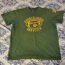 Mens Abercrombie & Fitch Vintage Green Tee Size Xl Photo