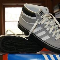 Mens Adidas Americana Vulcan Gray White Black Sz 13 or 14 Photo