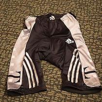 Mens Adidas Bike Shorts Black/silver Sz 34 Photo