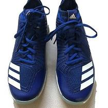 Mens Adidas Blue Three Strip Life Athletic Shoes Size 7 1/2 Photo