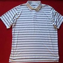 Mens Adidas Performance Polo Shirt Sz Xl Golf Club Ball  Fitness Country Club  Photo