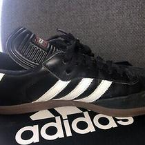 Mens Adidas Samba Classic Black Athletic Indoor Soccer Shoe 034563 Size 12 Photo