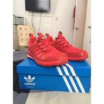 Mens Adidas Sl Loop Red/red/red Size 10.5 Photo