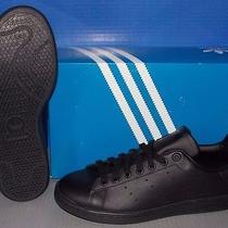 Mens Adidas Stan Smith in Colors Black /black / Black Size 12 Photo