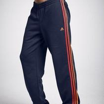 Mens Adidas Sweat Track Pants Tracksuit Jogging Bottoms Navy 2xl Xxl Photo