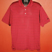Mens Adidas Xl X Large Burgundy Red Black Tennis Golf Polo Short Sleeve Shirt Photo