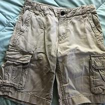 Mens Aeropostale Cargo Shorts Tan Size 28 Photo