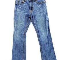 Mens Aeropostale Driggs Slim Boot Cut Jeans Distressed 32x30 Aero Photo