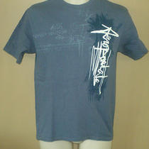 Mens Aeropostale Graphic T Shirt Blue S Photo