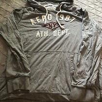 Mens Aeropostale Hoodie Sweatshirt Size 2x Xxlarge Photo