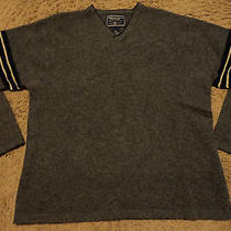 Mens American Eagle Outfitters 100% Lambs Wool Warm Long Sleeve Sweater Shirt Xl Photo