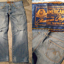 Mens American Rag Jeans 32 Smith Fit Relaxed Straight Leg Photo