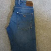 Mens Armani  Jeans  J10 Extra Slim  Size 32 Waist 32 Leg  Photo