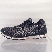 Mens Asics Gt 2000 Black White Running Shoes Size 9  Photo