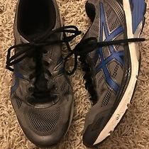 Mens Asics T6a3n Gt 1000 5 Grey Blue Black White Running Workout Shoes Size 8 Photo