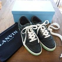 Mens Authentic Lanvin Low Top Training Sneakers Size 45 - 12 Photo