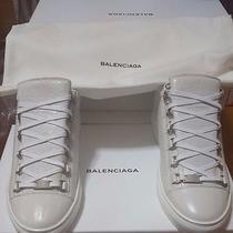 Mens' Balenciaga Arena Low Tops in Extra Blanc (White) in Sz 42 Photo