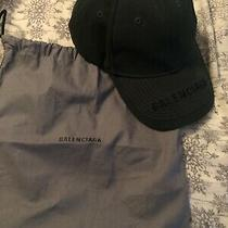 Mens Balenciaga Hat Size Large With Dust Bag Worn 3 Times 100% Authentic  Photo