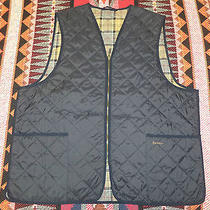 Mens Barbour A856 Diamond Barn Liner Quilted Waistcoat Vest 50  Photo