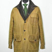 Mens Barbour Barn Wax Coat Jacket Wool Tartan Shooting Sporting Blazer Sz Xl  Photo