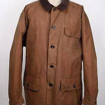 Mens Barbour Barn Wax Jacket Brown Size Xxlarge Photo