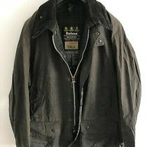 Mens Barbour Beaufort Wax Jacket Blue Coat 50in Size Extra Large (Xl) / 2xl 5 Photo