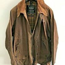 Mens Barbour Beaufort Wax Jacket Brown Coat 50in Size Extra Large (Xl) / 2xl 5 Photo