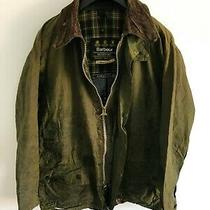 Mens Barbour Beaufort Wax Jacket Green Coat 44in Size Large / Extra Large L/xl 4 Photo