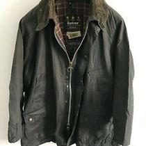 Mens Barbour Bedale Wax Jacket Blue Coat 46 in Size Extra Large (Xl) / 2xl Photo