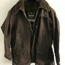 Mens Barbour Bedale Wax Jacket Brown Coat 36 in Size Small / Extra Small S/xs Photo